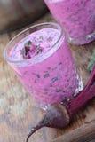 Sopa de beterrabas fria Foto de Stock Royalty Free