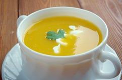 Sopa de calabaza Stock Image