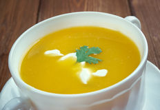 Sopa de calabaza Royalty Free Stock Image
