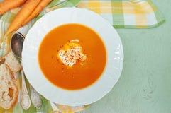 Sopa de Cenoura-Apple Fotos de Stock
