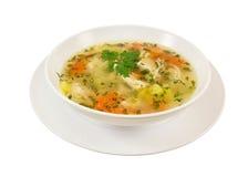 Sopa de Chiken. Imagem de Stock