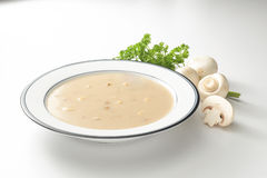 Sopa de cogumelo Fotografia de Stock Royalty Free