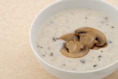 Sopa de cogumelo Foto de Stock