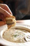 Sopa de cogumelo Fotos de Stock