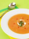 Sopa de creme vegetal Fotos de Stock