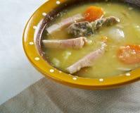 Sopa de ervilha holandesa Foto de Stock