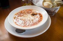 Sopa de Fagioli da massa Fotos de Stock Royalty Free
