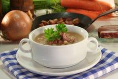 Sopa de feijão Imagens de Stock