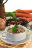 Sopa de feijão Imagem de Stock Royalty Free