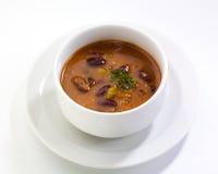 Sopa de feijão imagem de stock