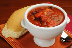 Sopa de feijão Fotos de Stock