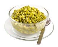 Sopa de feijão verde foto de stock royalty free