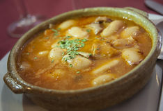 Sopa de feijão branco Imagem de Stock