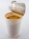 Sopa de fideos Fotografía de archivo