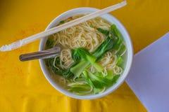 Sopa de fideos del vietnamita de Pho Fotos de archivo