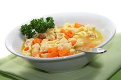 Sopa de galinha Imagens de Stock