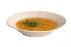 Sopa de galinha Foto de Stock Royalty Free