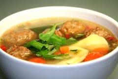 Sopa de galinha fotografia de stock
