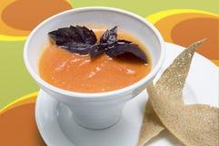 Sopa de Gazpacho foto de stock