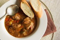 Sopa de goulash Imagem de Stock Royalty Free