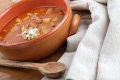 Sopa de goulash Imagens de Stock Royalty Free