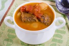 Sopa de goulash Fotografia de Stock