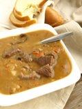 Sopa de guisante con Chipotle y las pasas Fotos de archivo