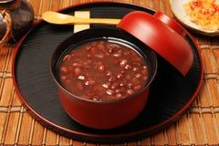 Sopa de habas rojas Foto de archivo libre de regalías