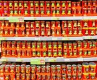 Sopa de Heinz fotos de archivo libres de regalías