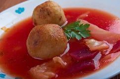 Sopa de Kubbeh Imagen de archivo