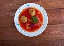 Sopa de Kubbeh Imagenes de archivo