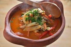 Sopa de Kung del ñame de Tung imágenes de archivo libres de regalías