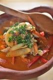 Sopa de Kung del ñame de Tung imagen de archivo