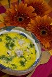 Sopa de la albóndiga Imagen de archivo