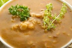 Sopa de la cebada Fotografía de archivo libre de regalías