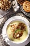 Sopa de la cebolla Fotografía de archivo libre de regalías