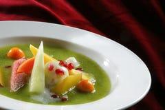 Sopa de la fruta Fotos de archivo libres de regalías