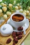 Sopa de la fruta Foto de archivo