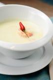 Sopa de la leche de coco Fotos de archivo libres de regalías