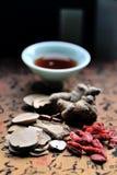 Sopa de la medicina china Imagen de archivo libre de regalías