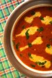 Sopa de la pimienta dulce Imagen de archivo libre de regalías