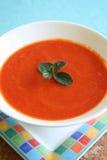Sopa de la pimienta roja Imágenes de archivo libres de regalías