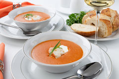 Sopa de langosta Fotos de Stock Royalty Free