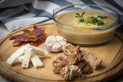 Sopa de lentilha Imagens de Stock
