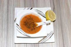 Sopa de lentilha Foto de Stock