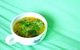 Sopa de lentilhas foto de stock royalty free