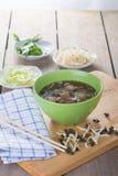 Sopa de macarronete Fotos de Stock