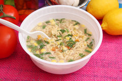 Sopa de macarronete chinesa Fotografia de Stock Royalty Free