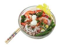 Sopa de macarronete de Phnom Penh imagem de stock royalty free