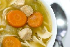Sopa de macarronete de Turquia Imagens de Stock Royalty Free